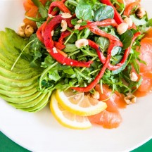 Oak Smoked Salmon Salad